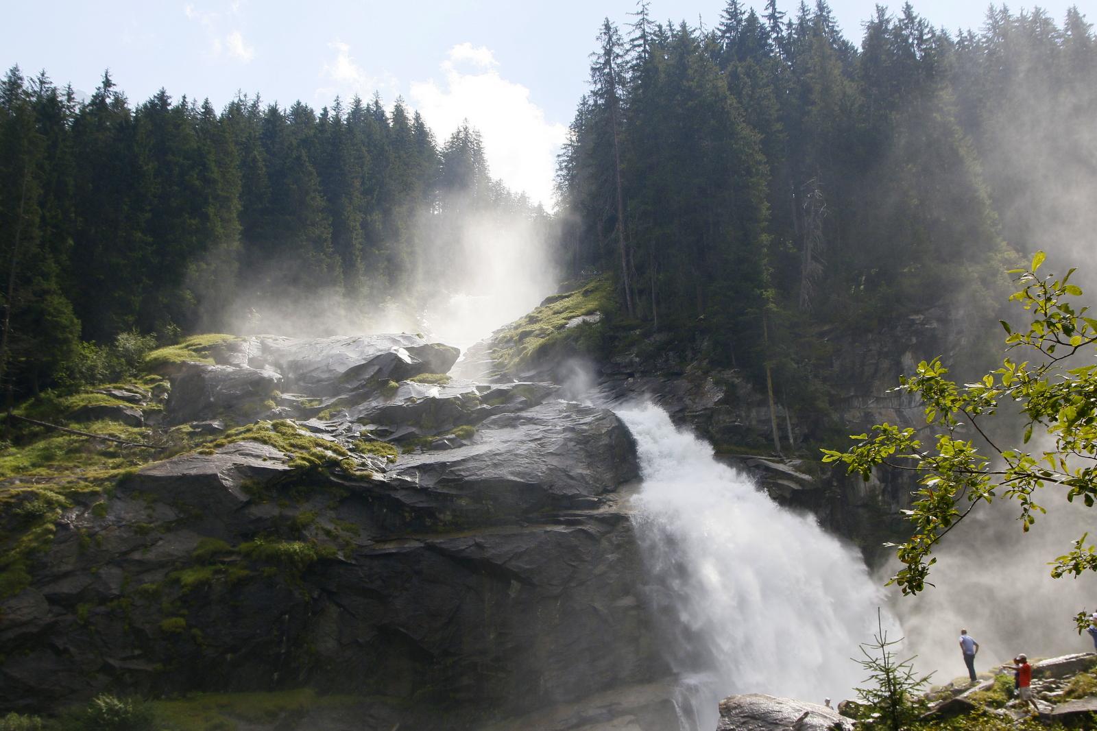 Mogočni slapovi Avstrija