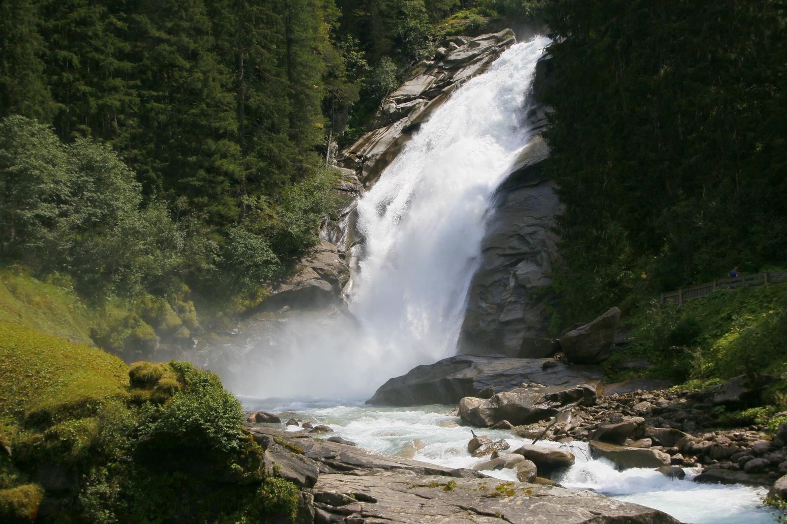 Mogočni Krimmlski slapovi