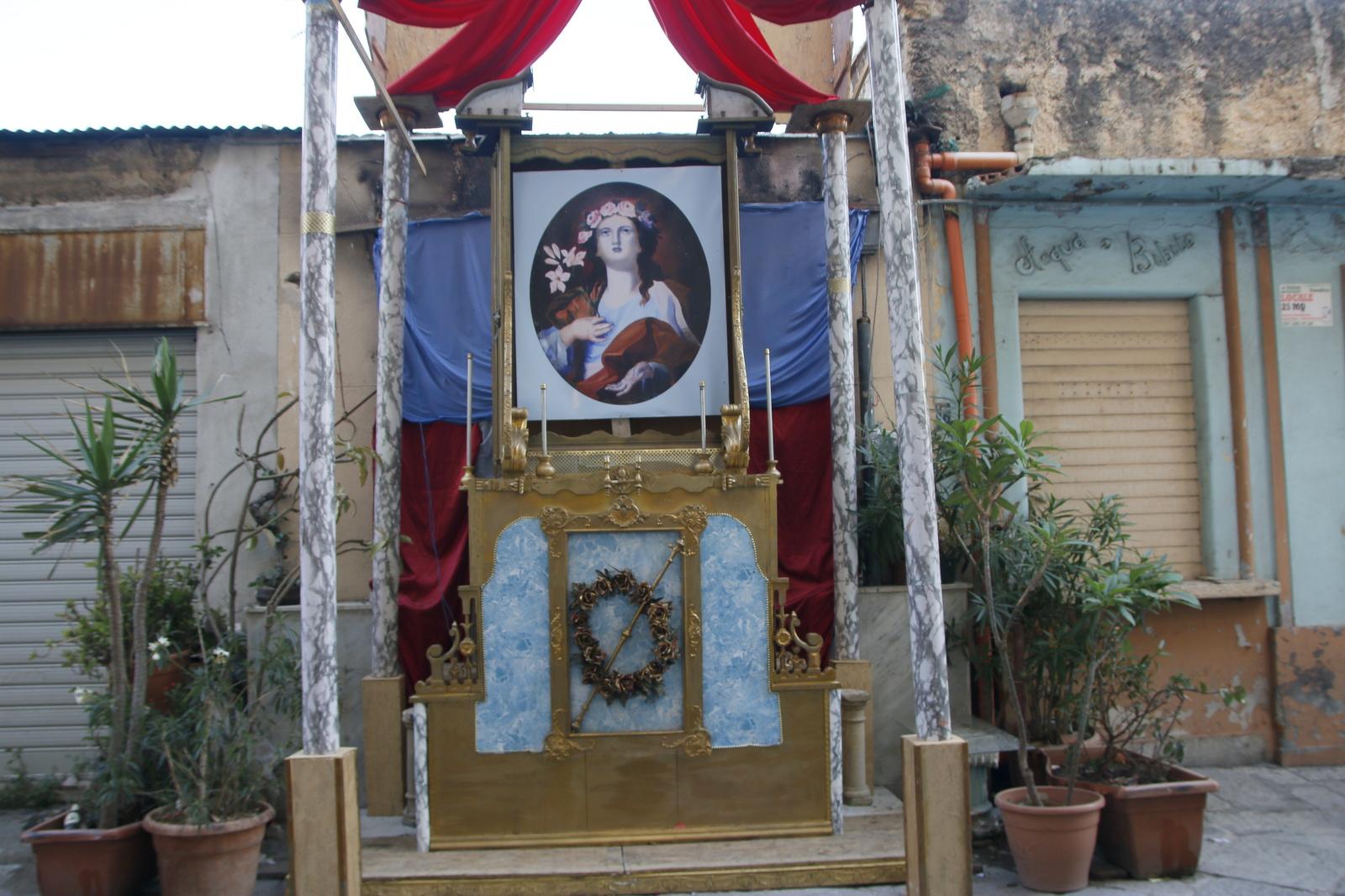 Ulični oltar Palermo