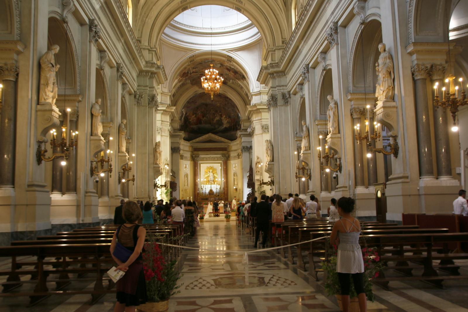 Palermo katedrala, poroka