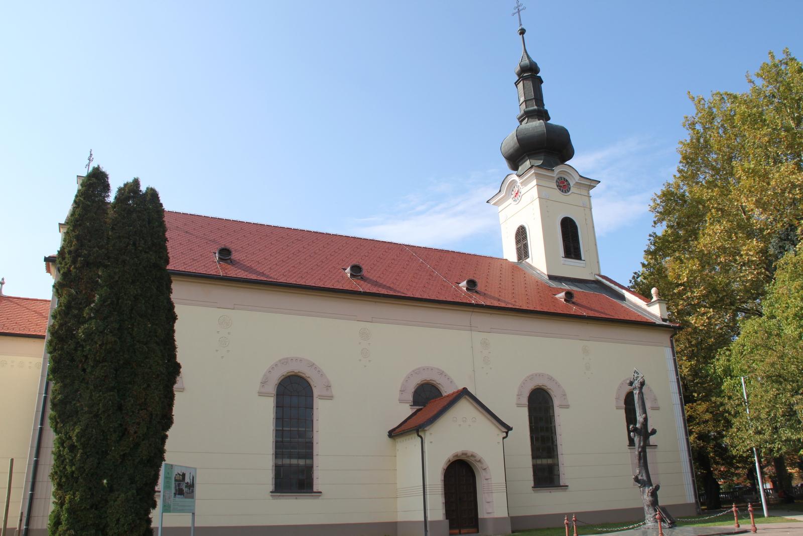 Puconci, evangeličanska cerkev