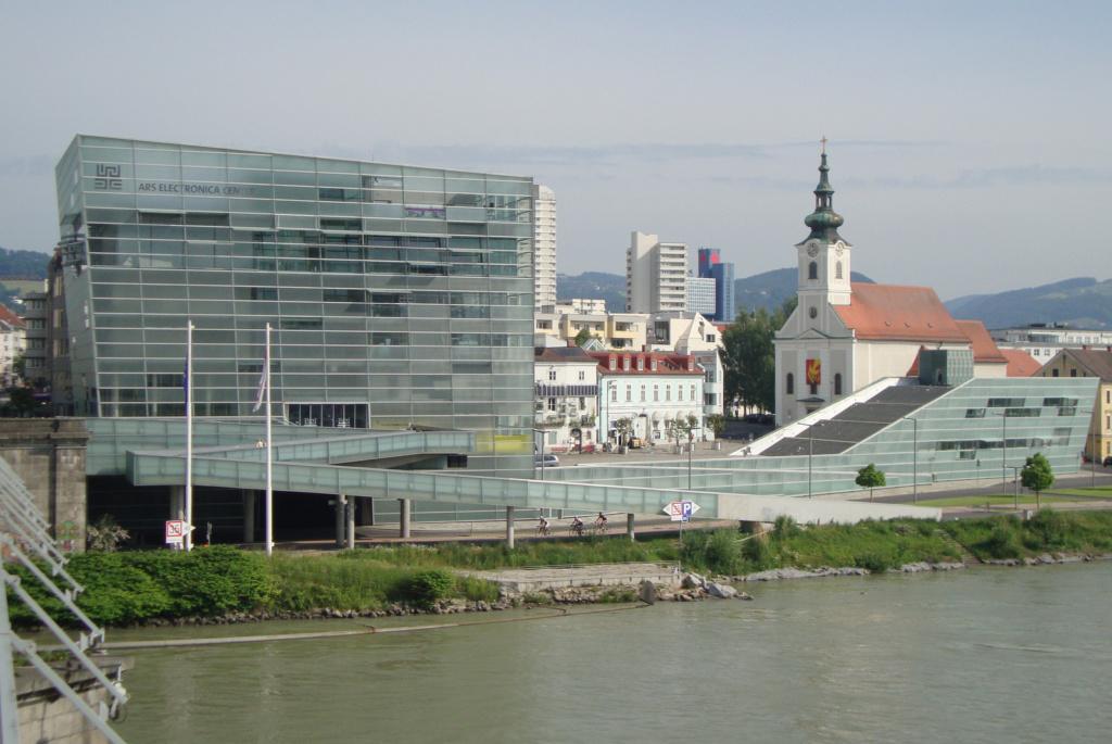 Linz Kolesarjenje ob Donavi