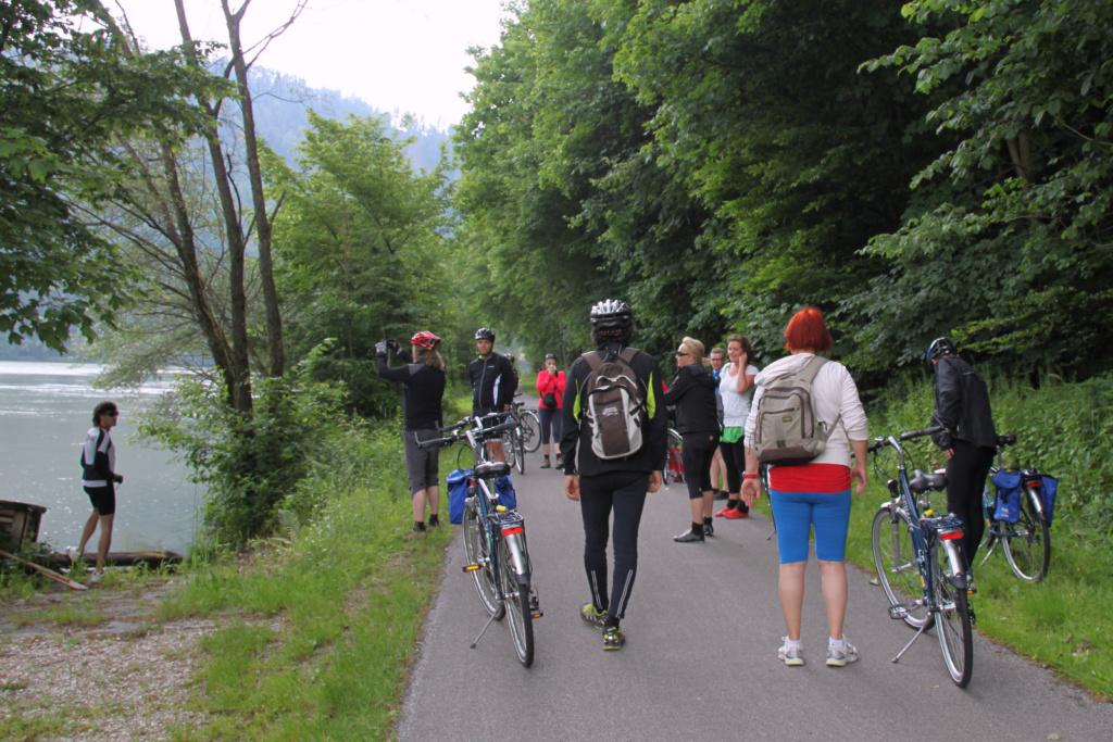 S kolesom ob Donavi