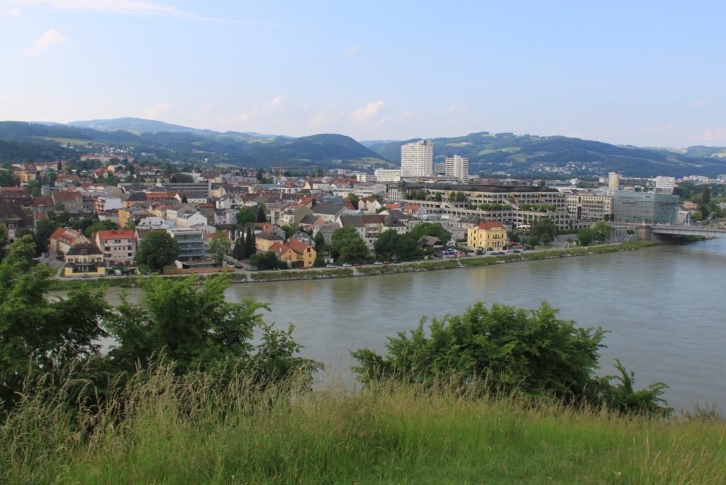 Kolesarjenje ob Donavi Linz