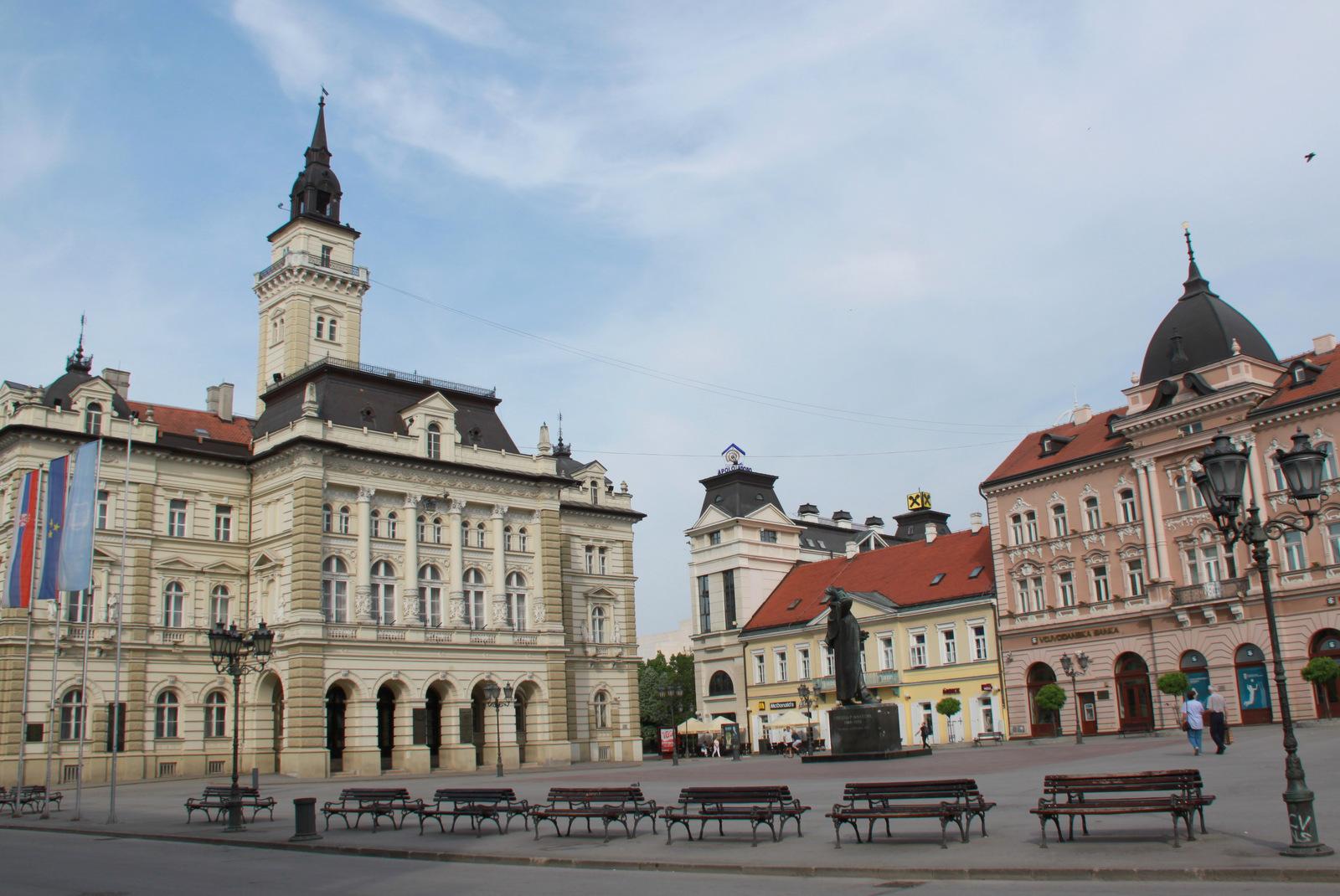 Novi Sad osrednji mestni trg