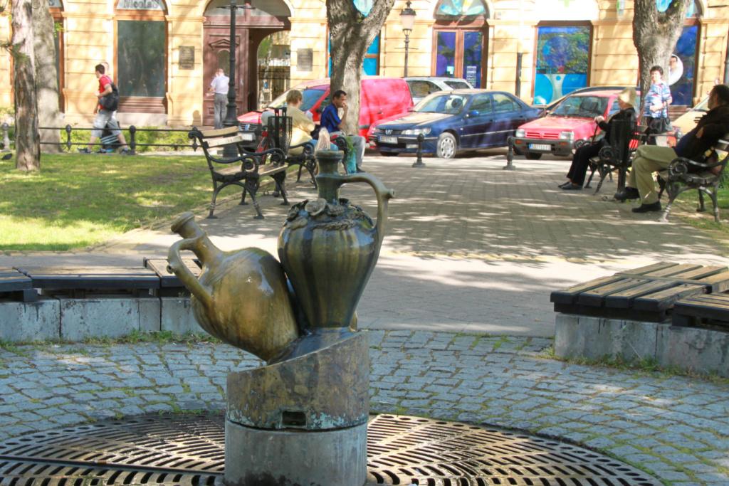 Subotica park s fontano