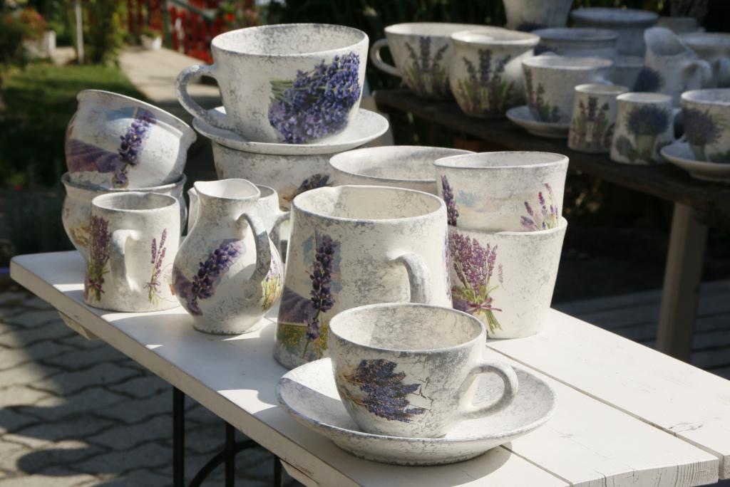 Keramika s pridihom sivke