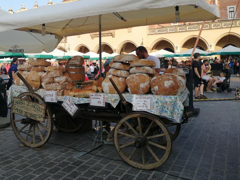 Krakow tržnica