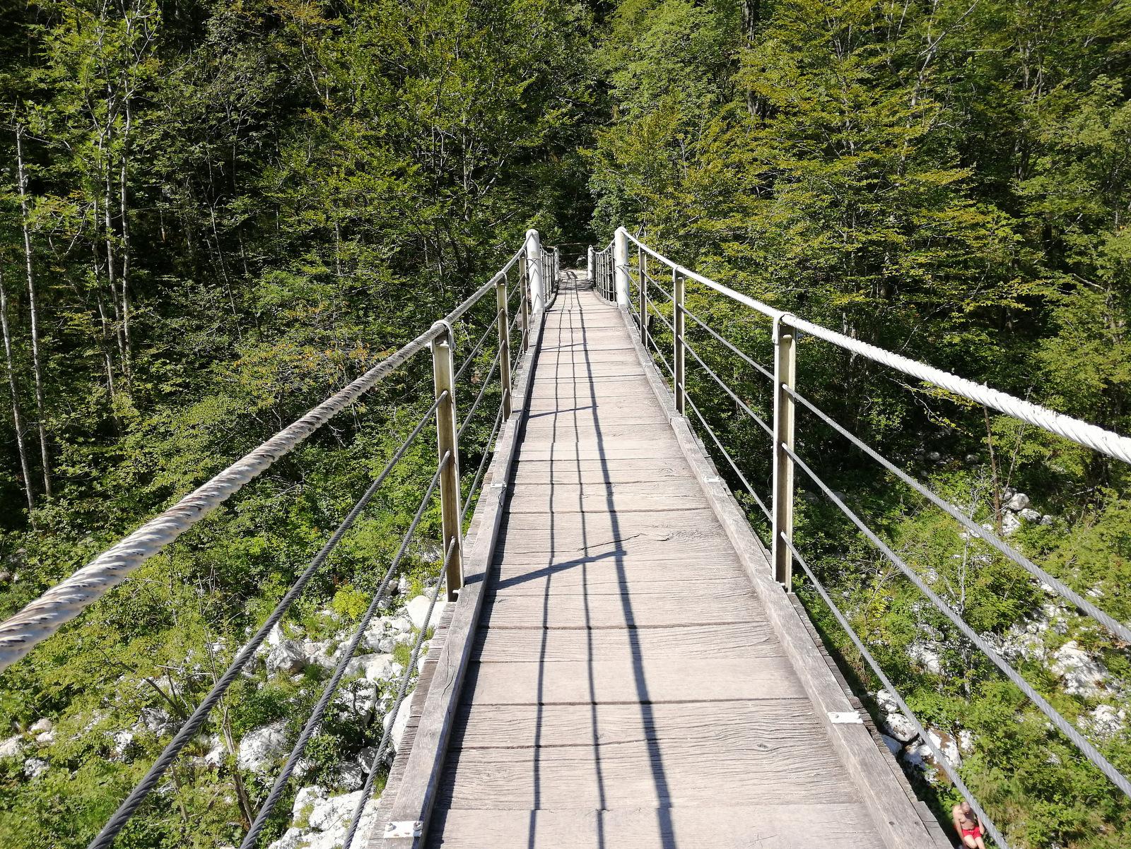 Soča viseči most