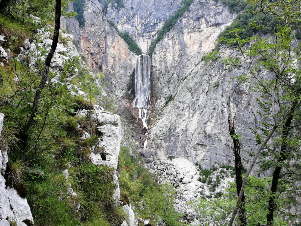 Pogled na Boko z razgledne ploščadi