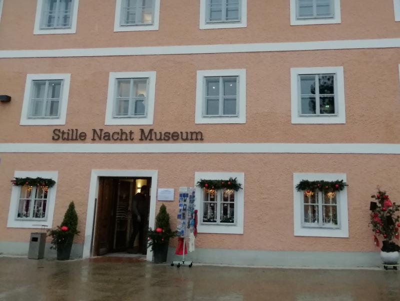 Oberndorf muzej Svete noči