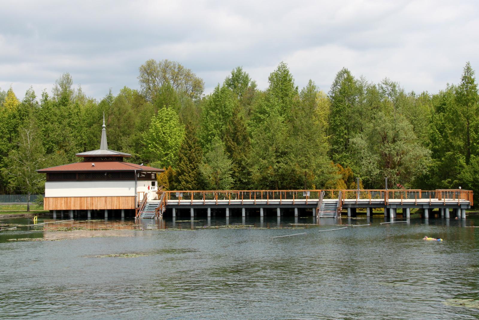 Termalno jezero Heviz