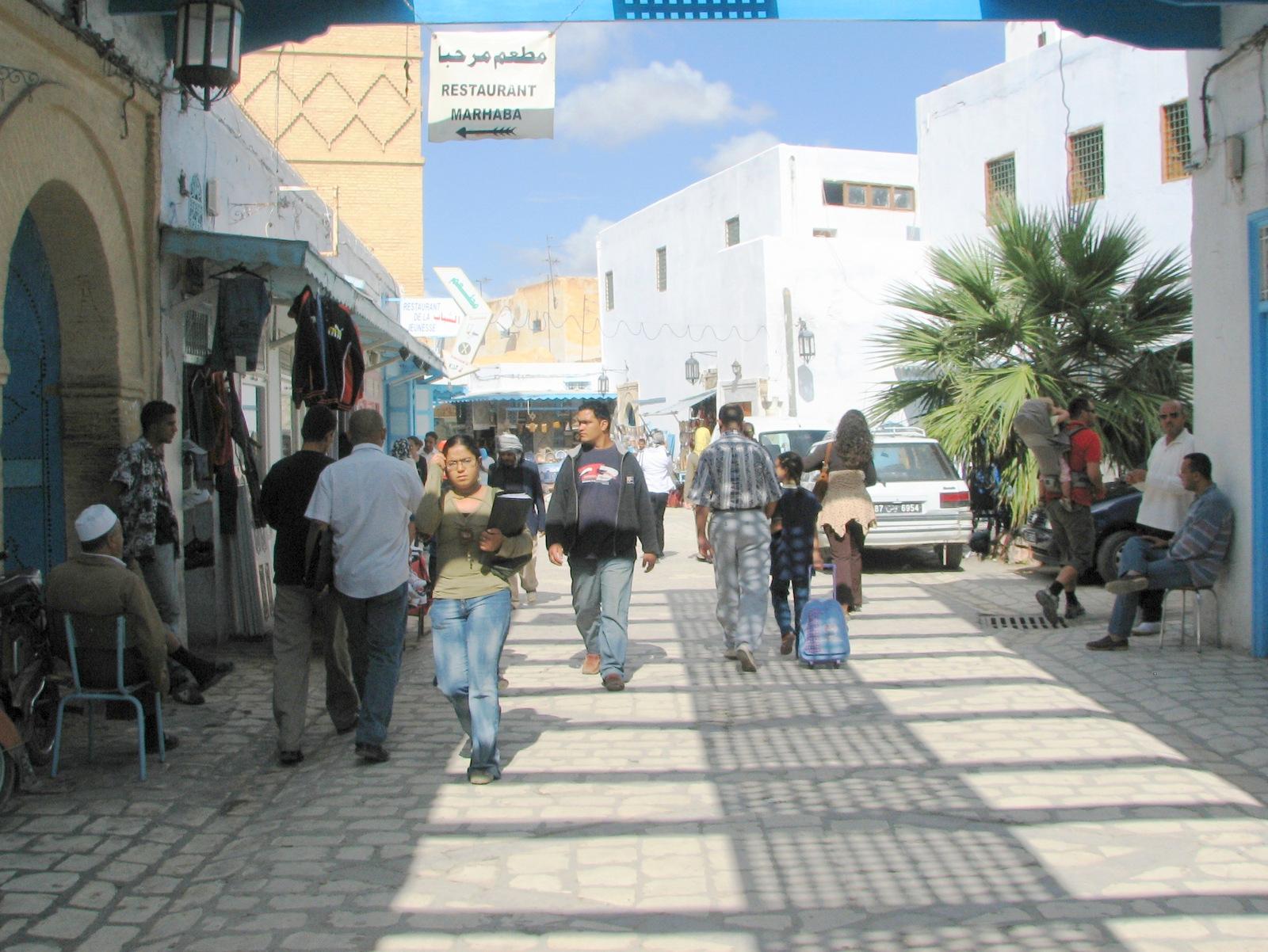 Kairouan središče mesta