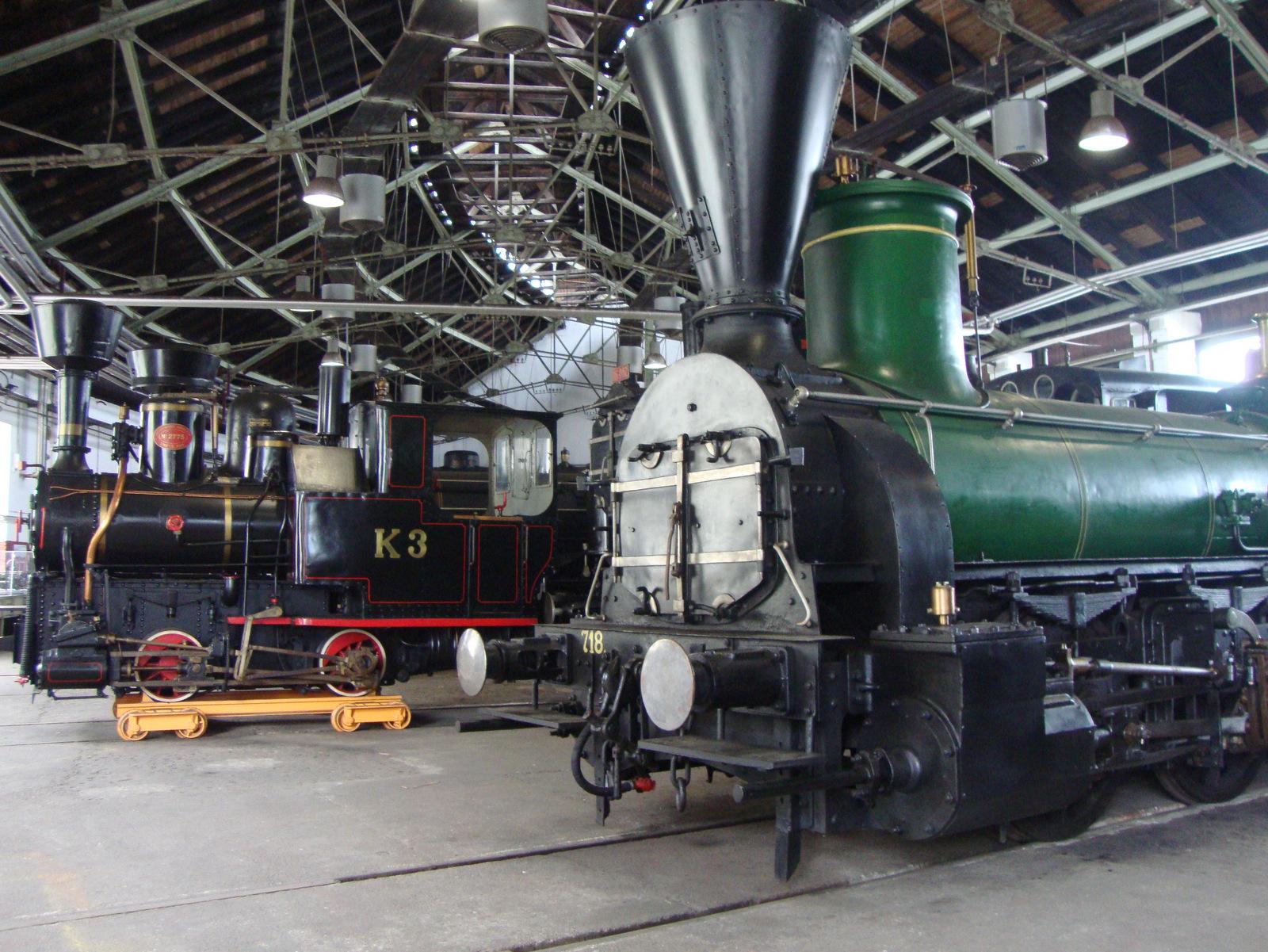 Stare lokomotive muzej
