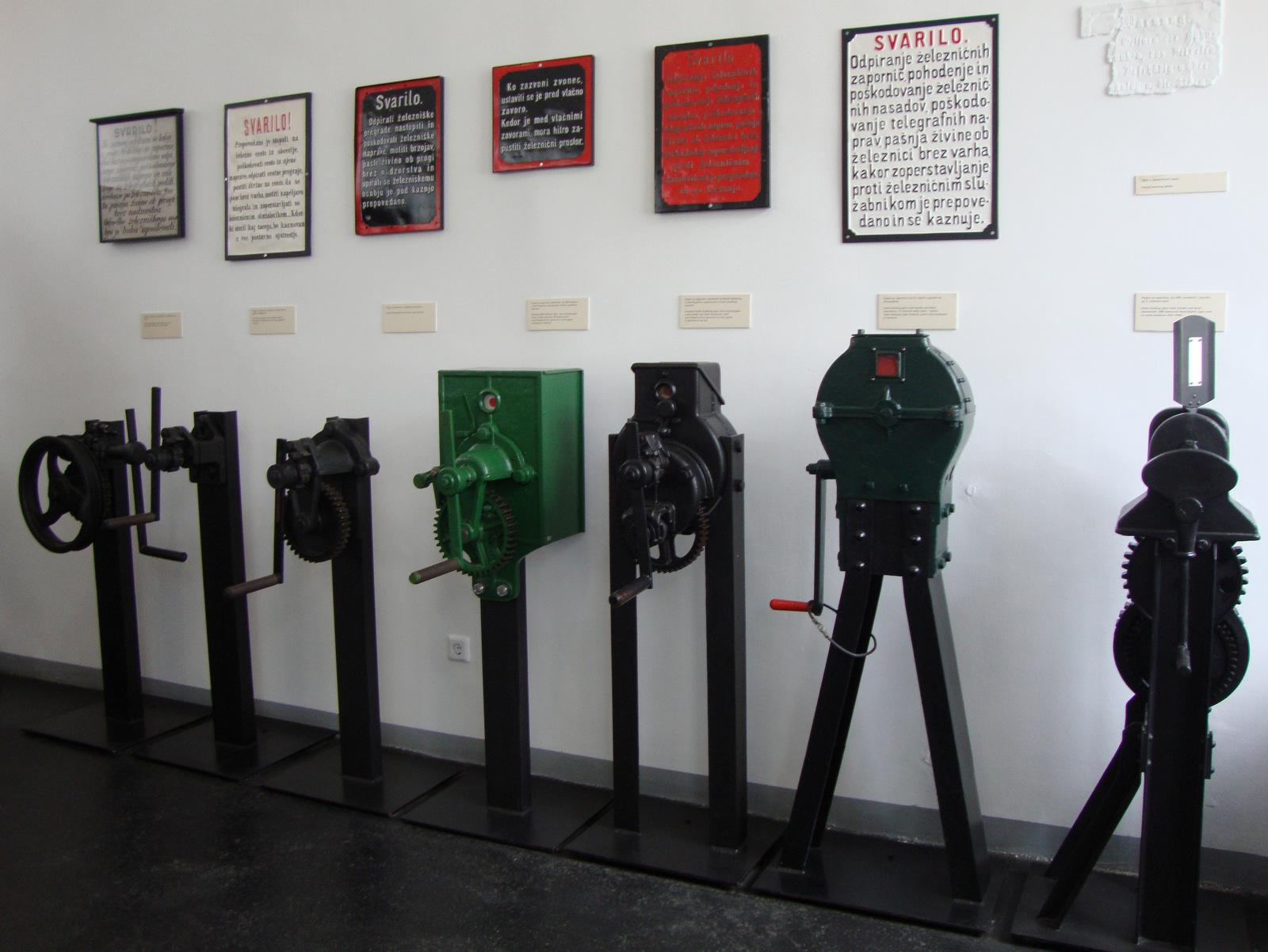 Pripomočki in orodje železničarjev