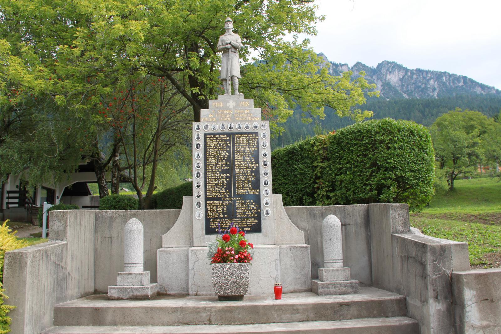 Spomenik padlim med drugo svetovno vojno