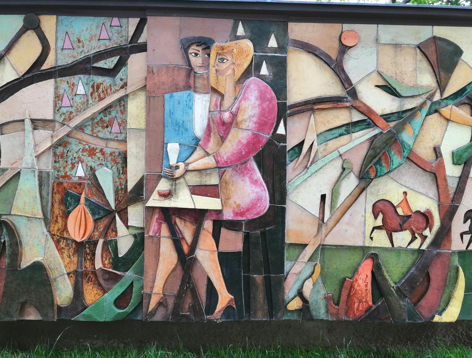 Umetnina v parku