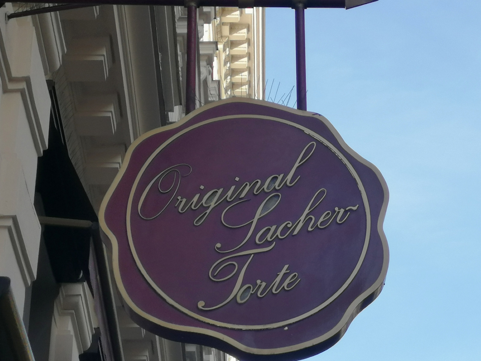 Originalna Sacher tora v istoimenskem hotelu