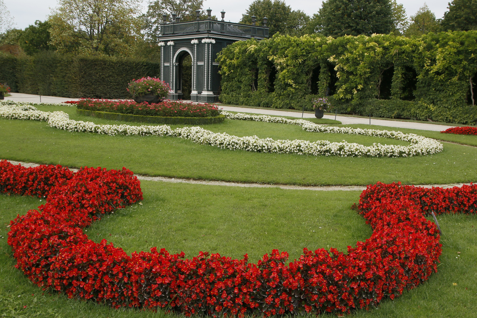 Park ob dvorcu Schönbrunn