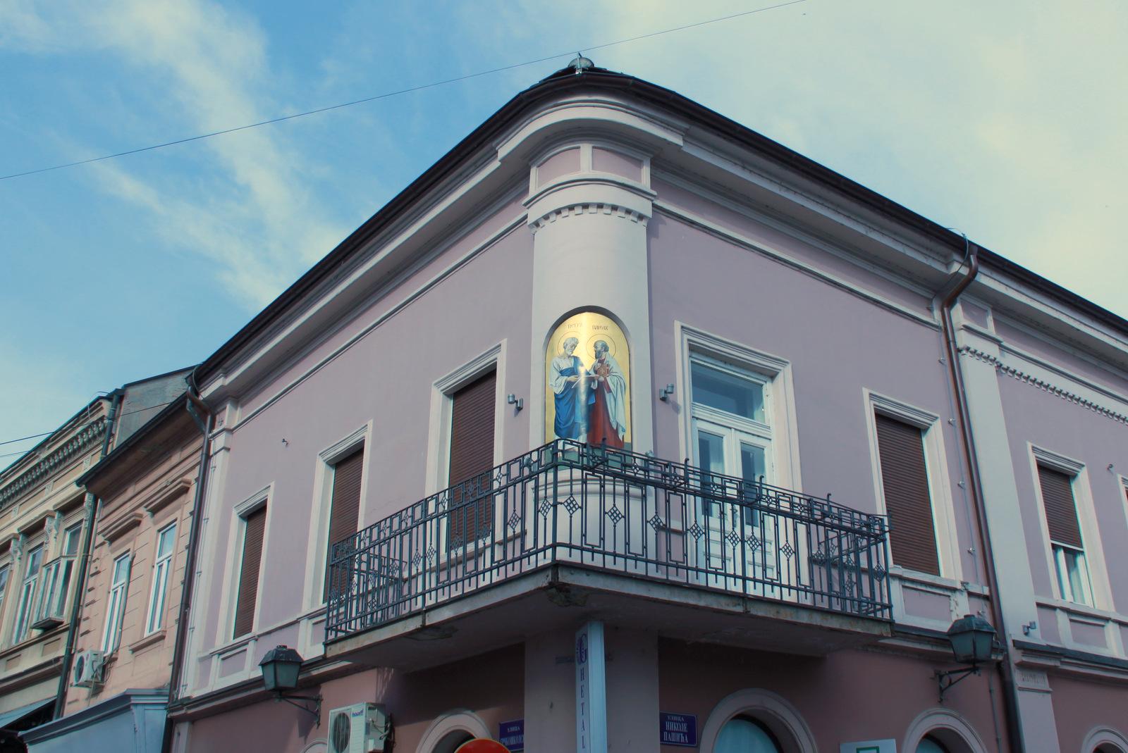 Balkon hiše