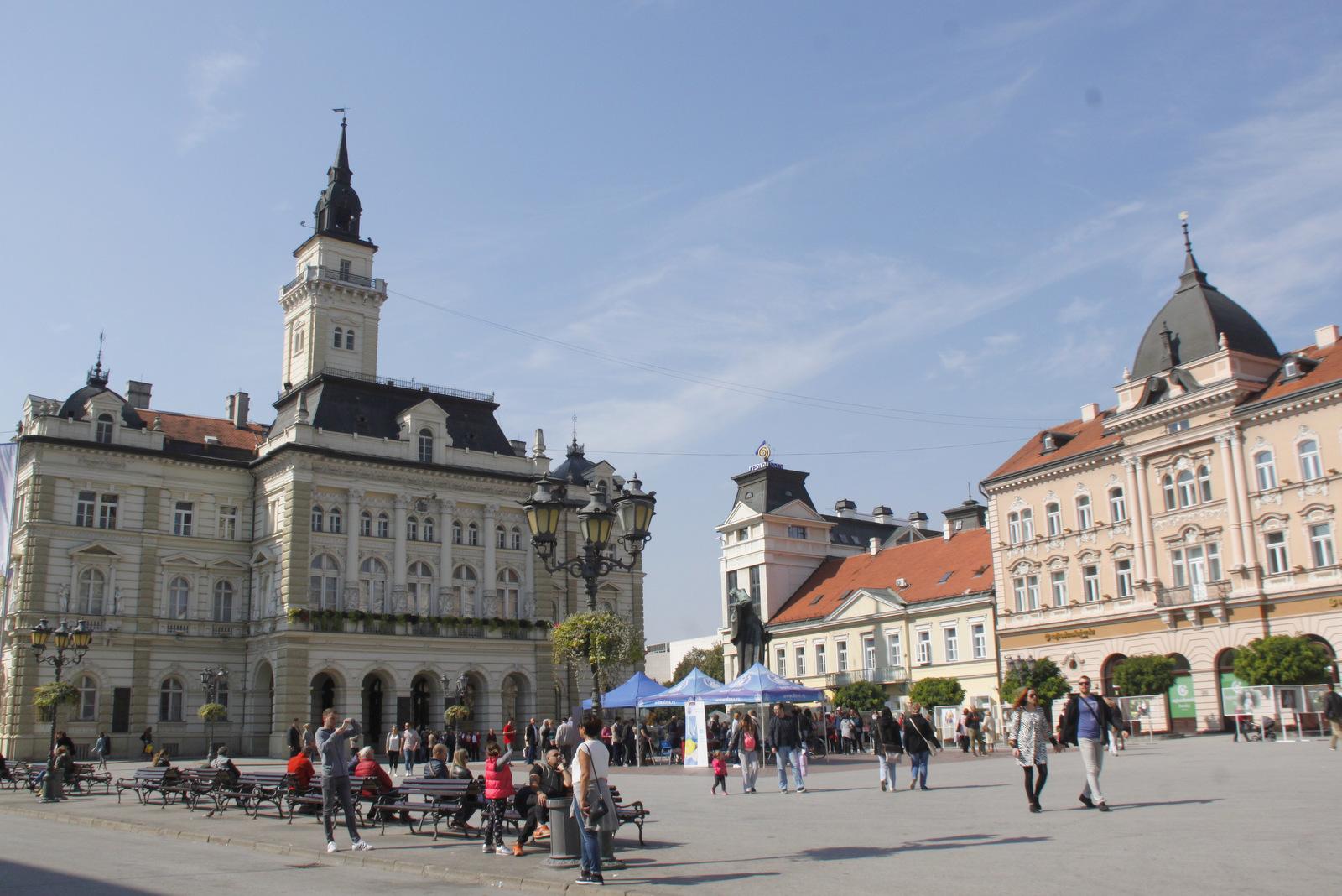 Novi Sad, center