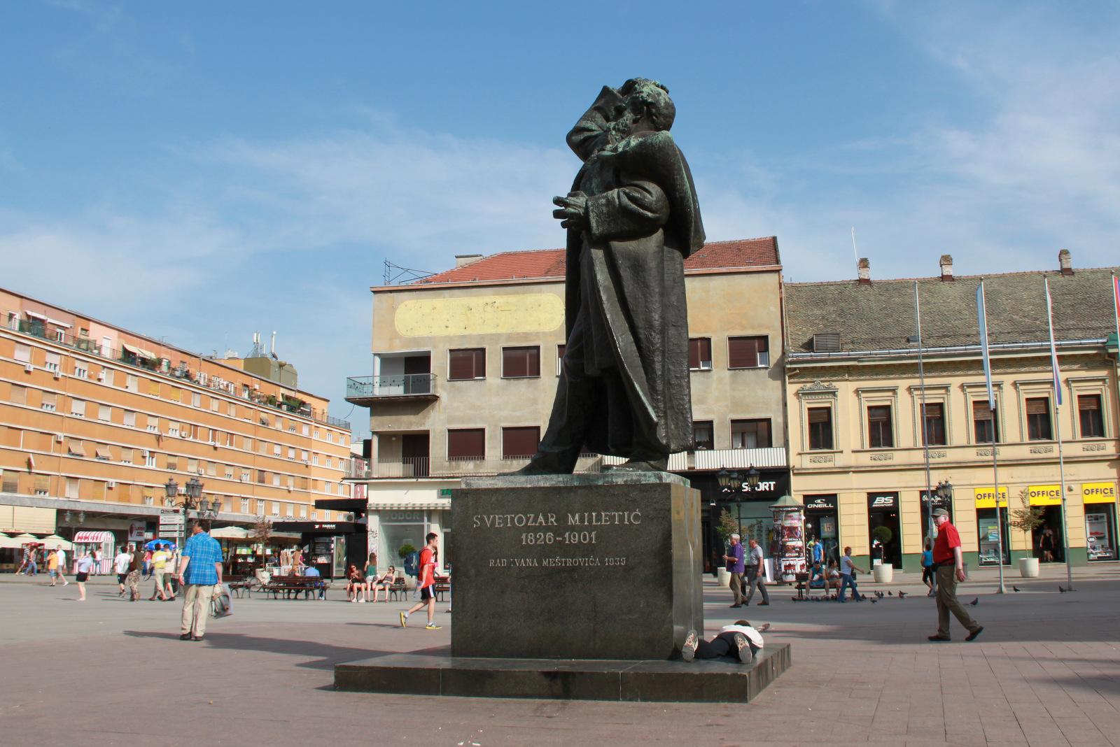 Spomenik Svetozarju Miletiću
