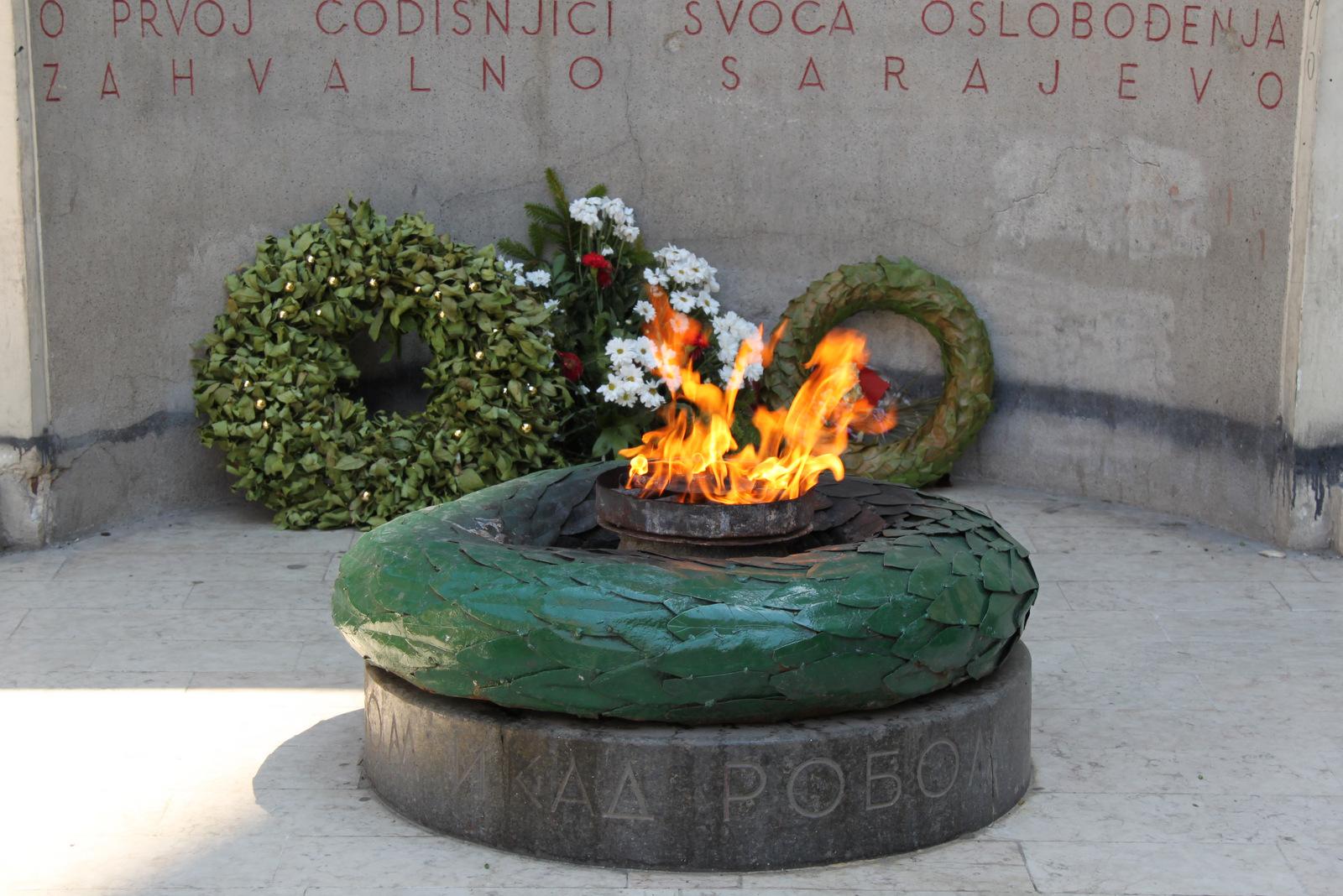 Večna vatra v Sarajevu