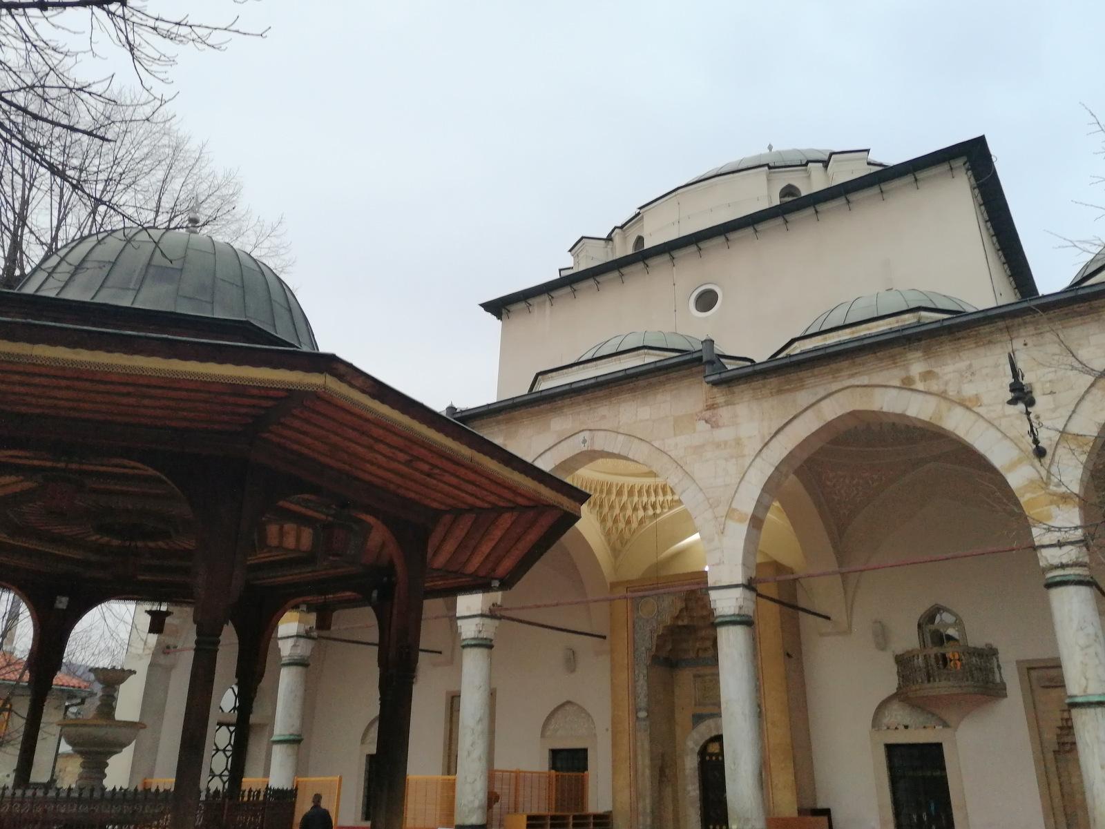 Gazi Husrev-begova džamija v Sarajevu