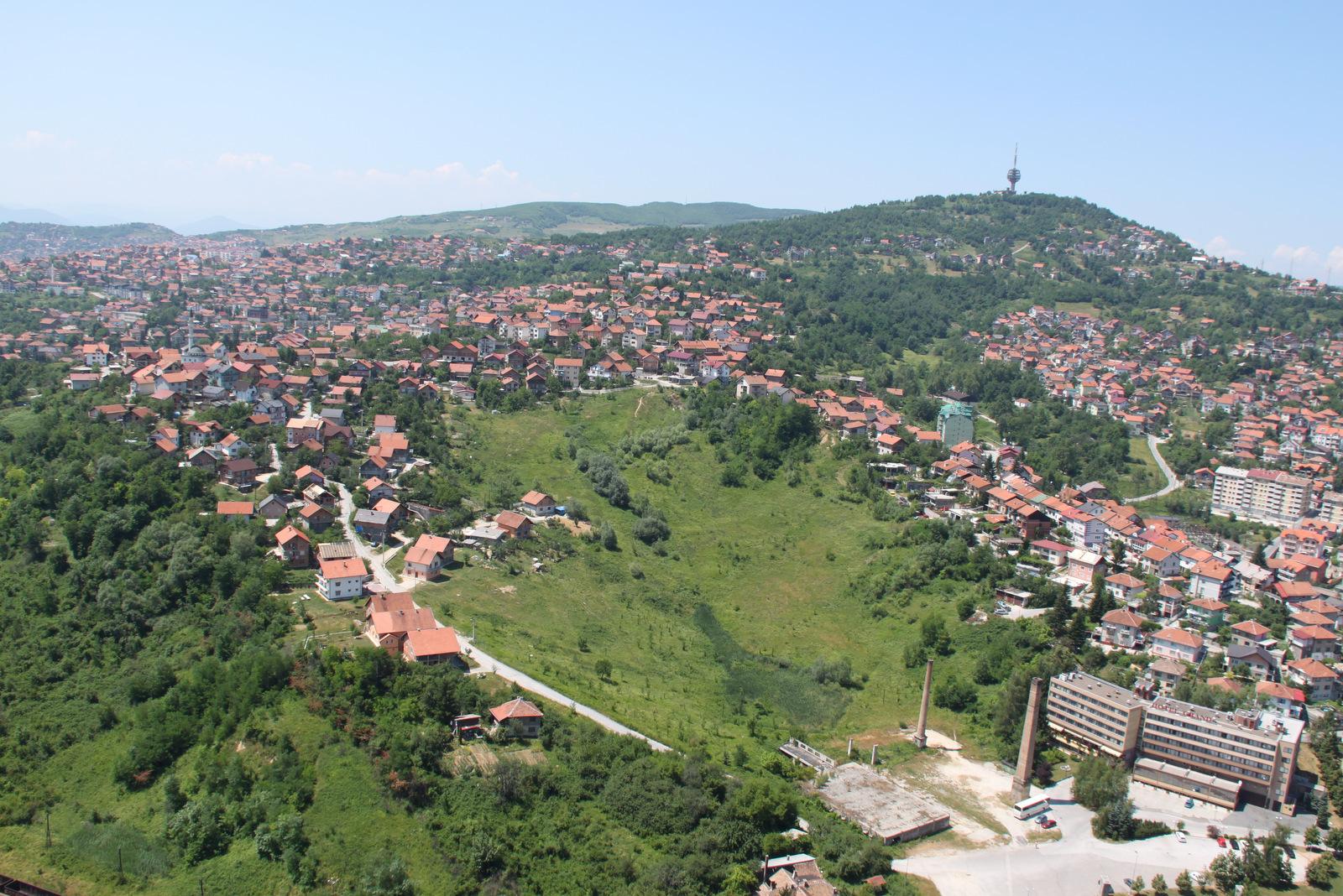 Panorama mesta Sarajevo