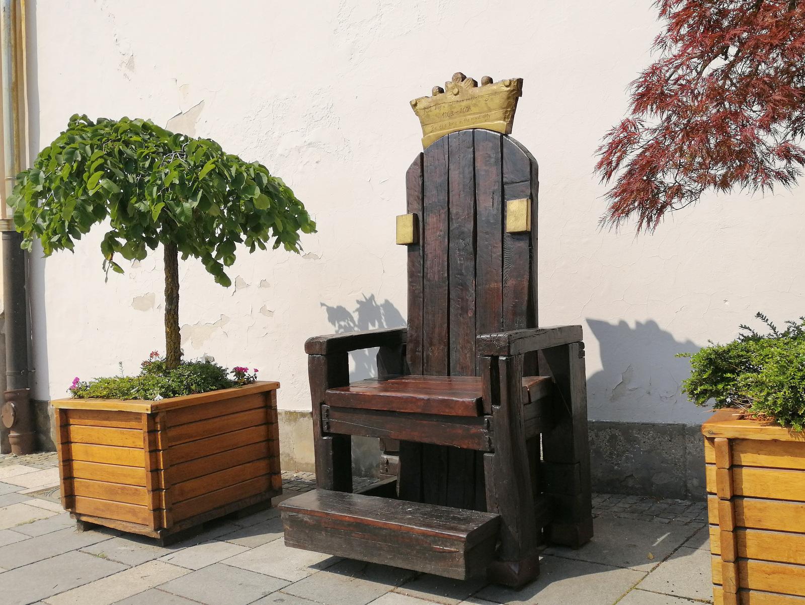 Varaždinski kraljevi prestol