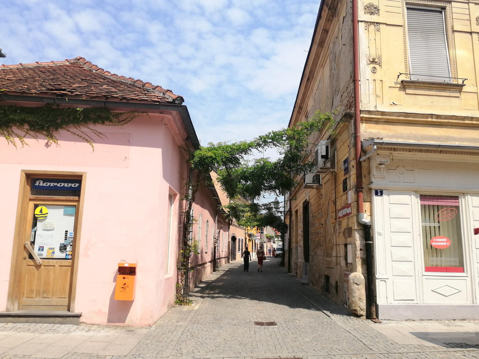 Varaždinske mestne ulice, prodajalna Borovo