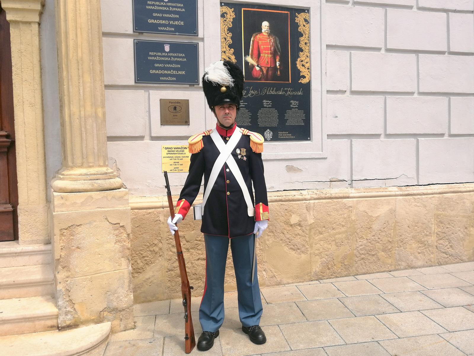 Varaždinska mestna garda – Purgari