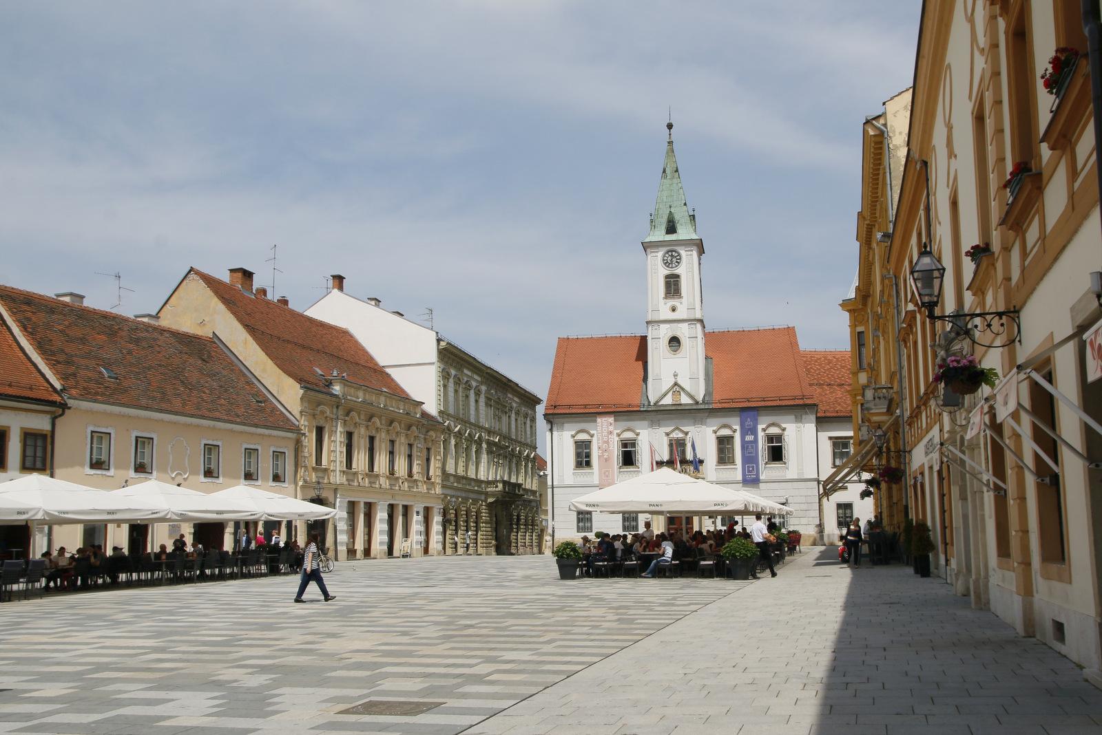 Glavni trg, Trg Kralja Tomislava, Varaždin