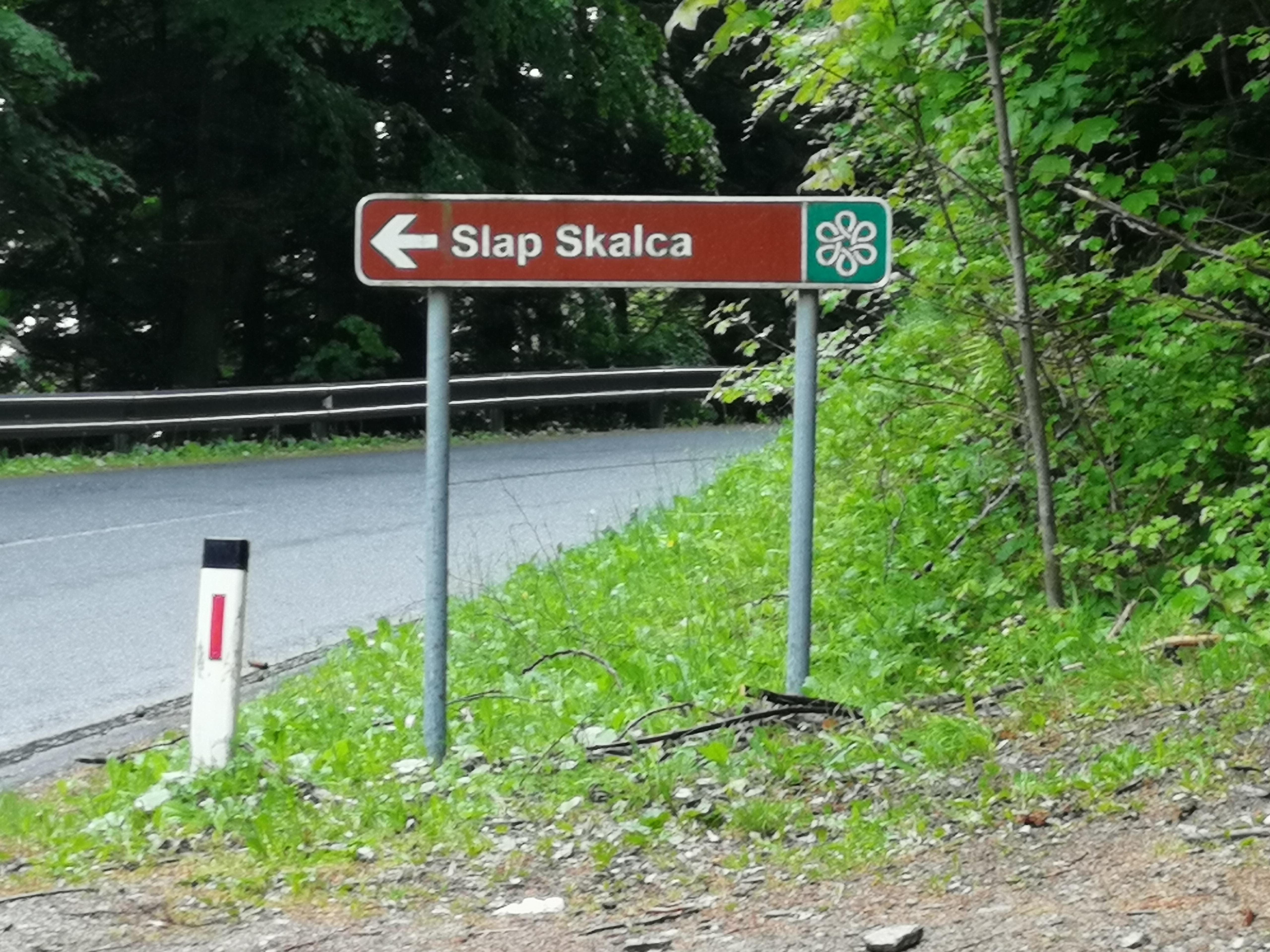 Pot do slapa Skalca