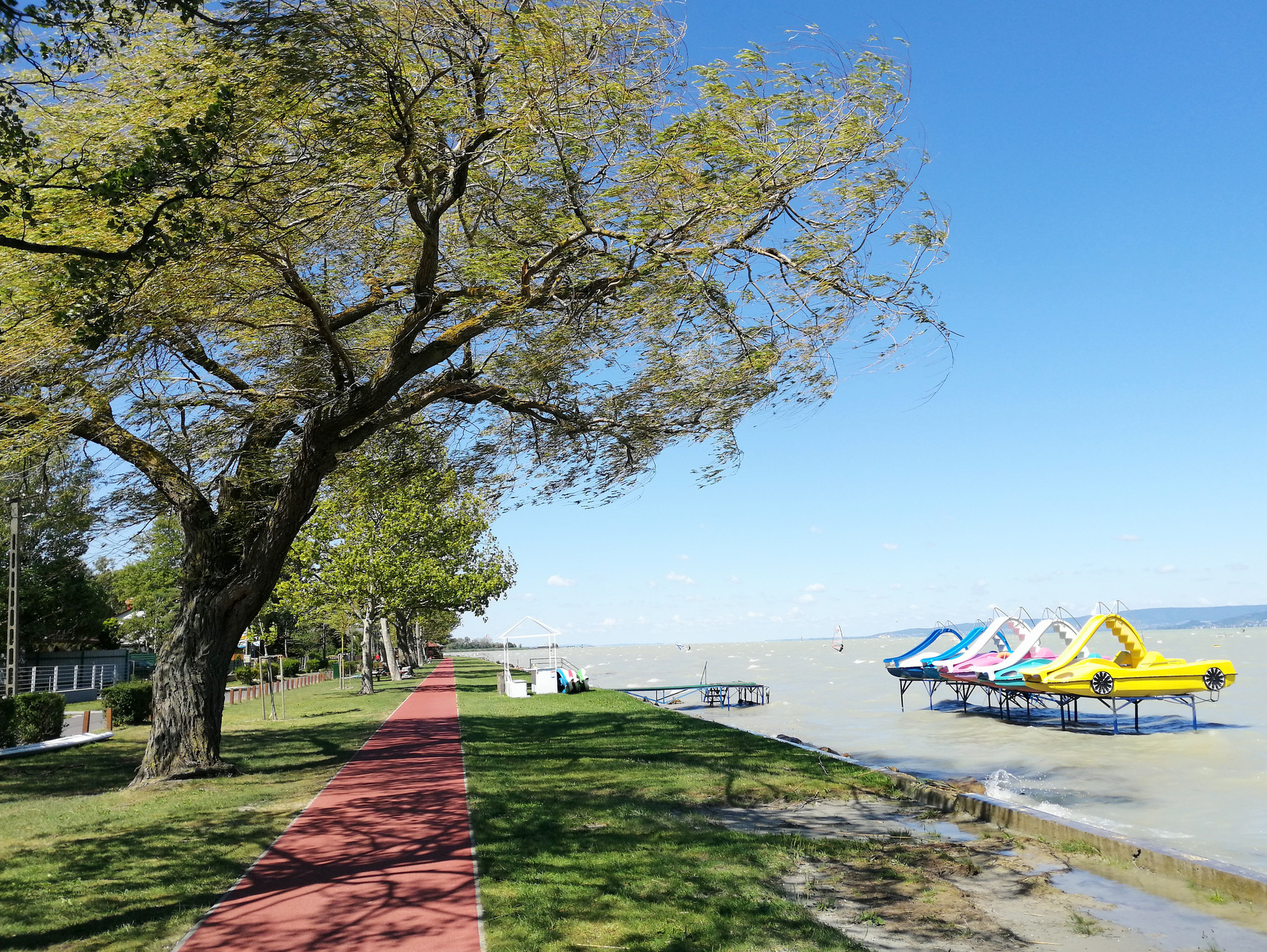 Kolesarjenje okrog Balatona