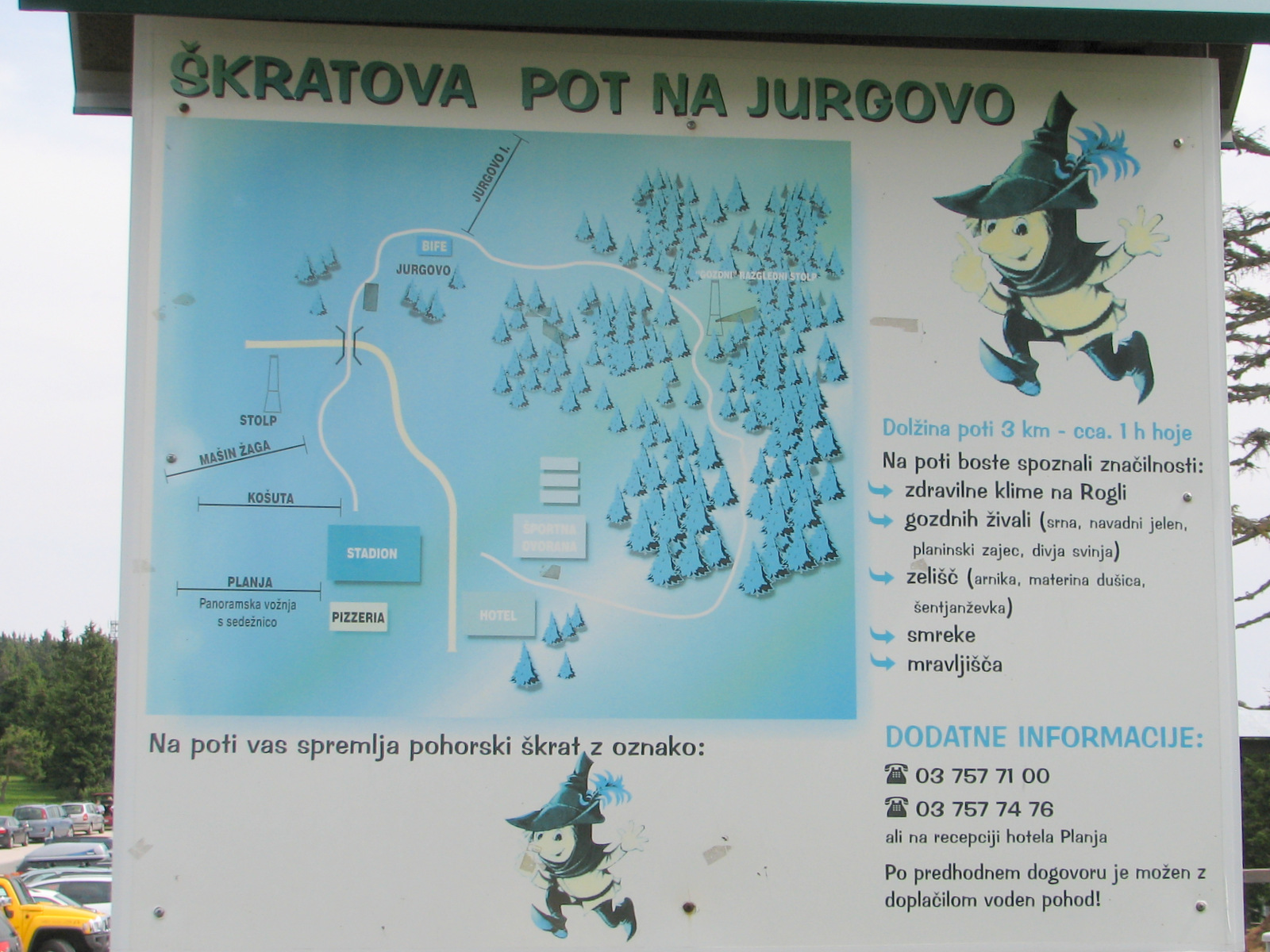 Škratova pot na Jurgovo