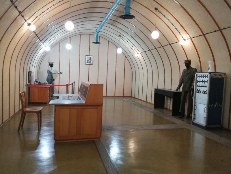 Bunker Škrilj, notranjost