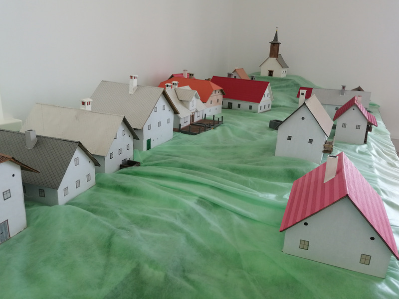 Načrt vasi Kočevska Reka