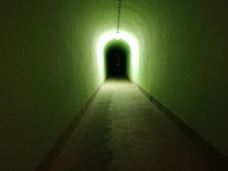 Bunker Škrilj, notranjost, vhod