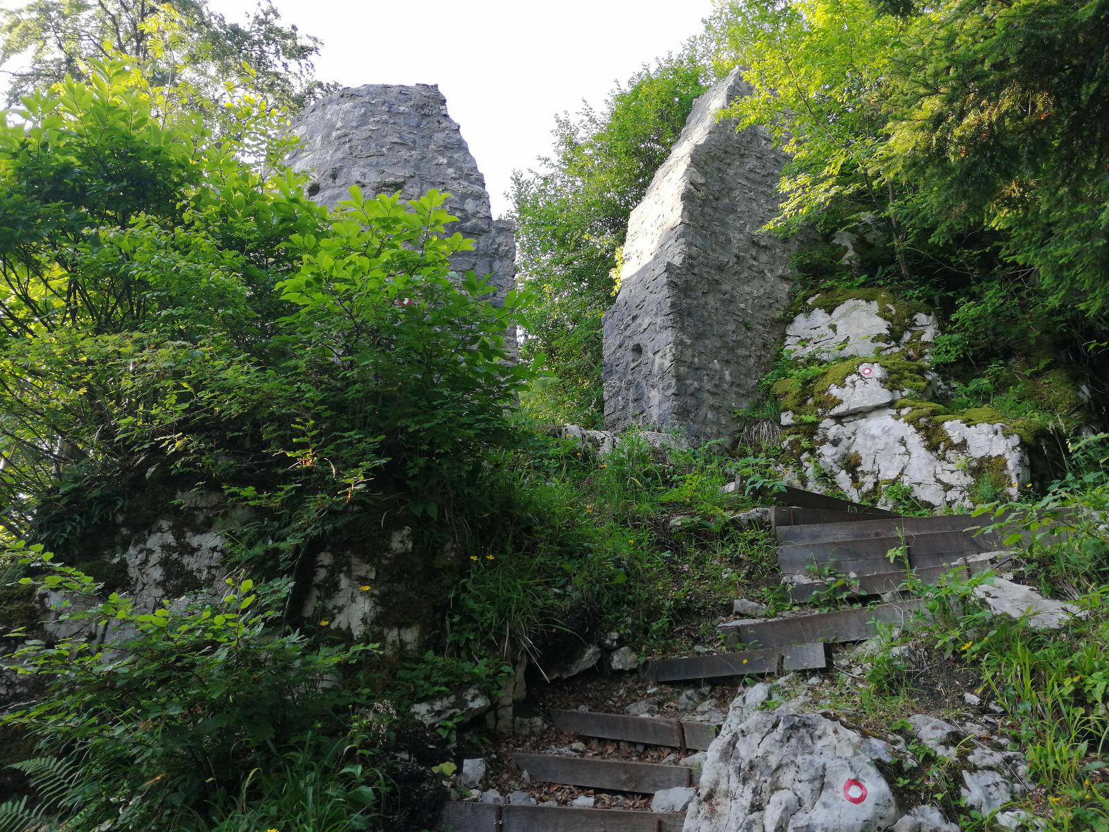 Grad Fridrihštajn, ostanki