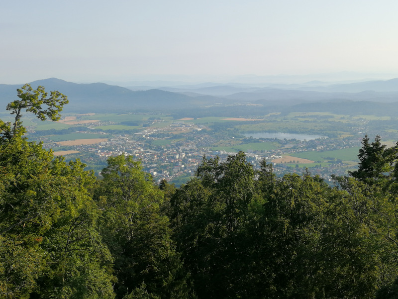 Grad Fridrihštajn, razgled na okolico