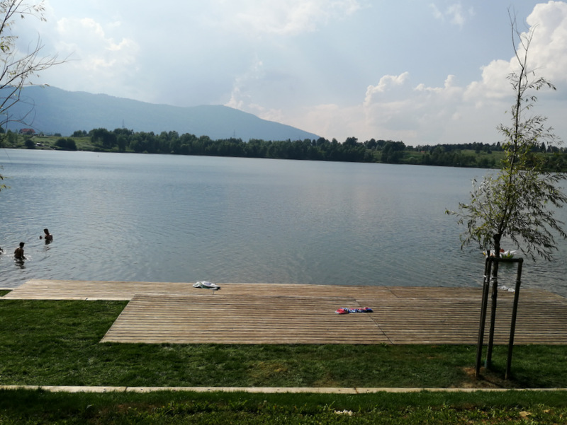 Kočevsko jezero, plaža