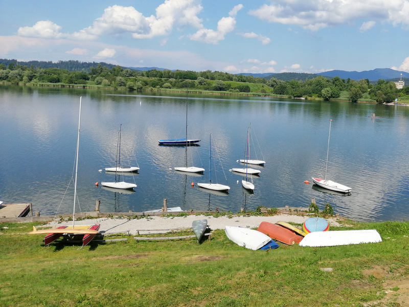 Kočevsko jezero, čolni