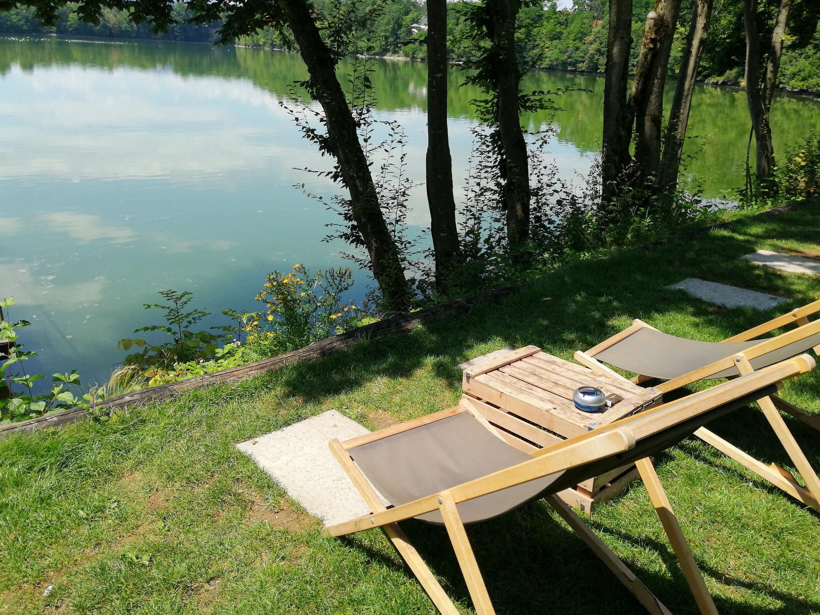 Trbojsko jezero, razgled