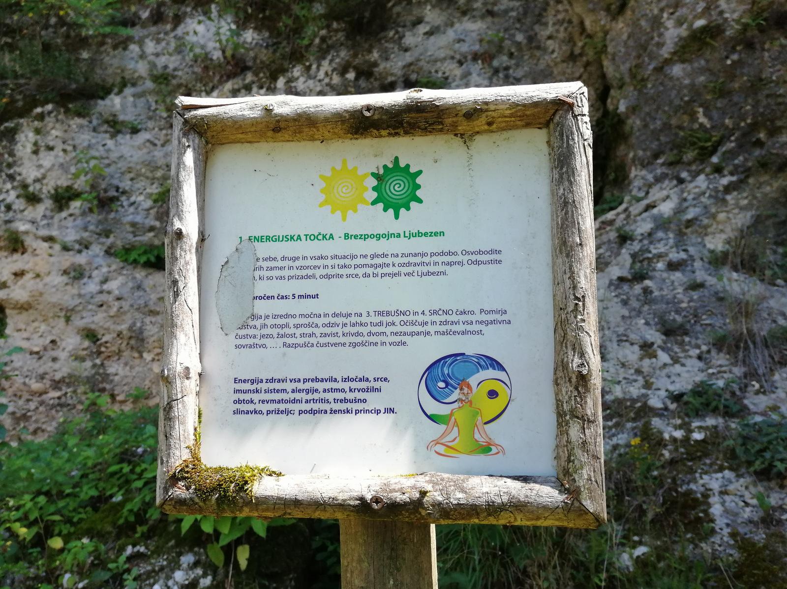Trbojsko jezero, energetske točke