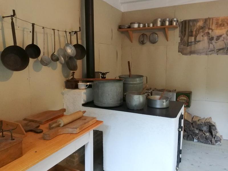 Partizanska bolnica Franja, kuhinja