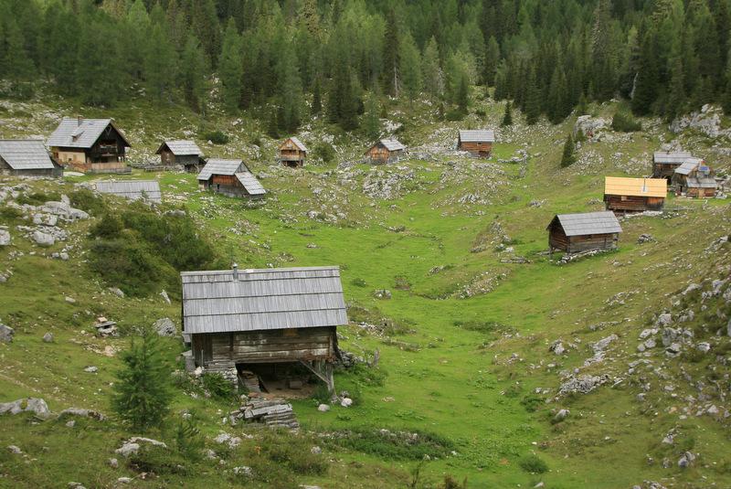 Triglavska jezera, pot, planina Blato