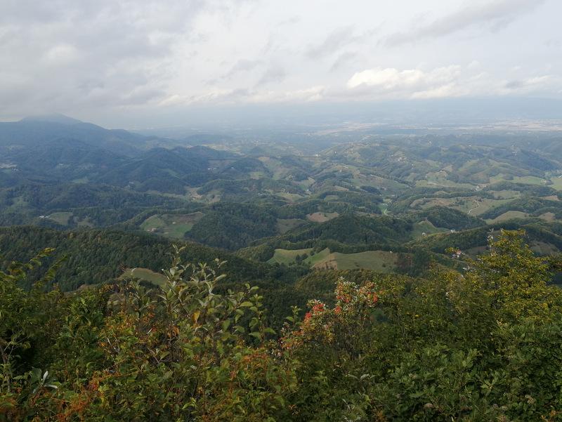 Donačka gora, razgled