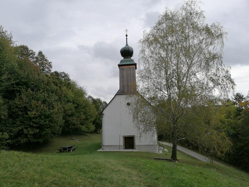 Donačka gora, cerkev sv. Donata