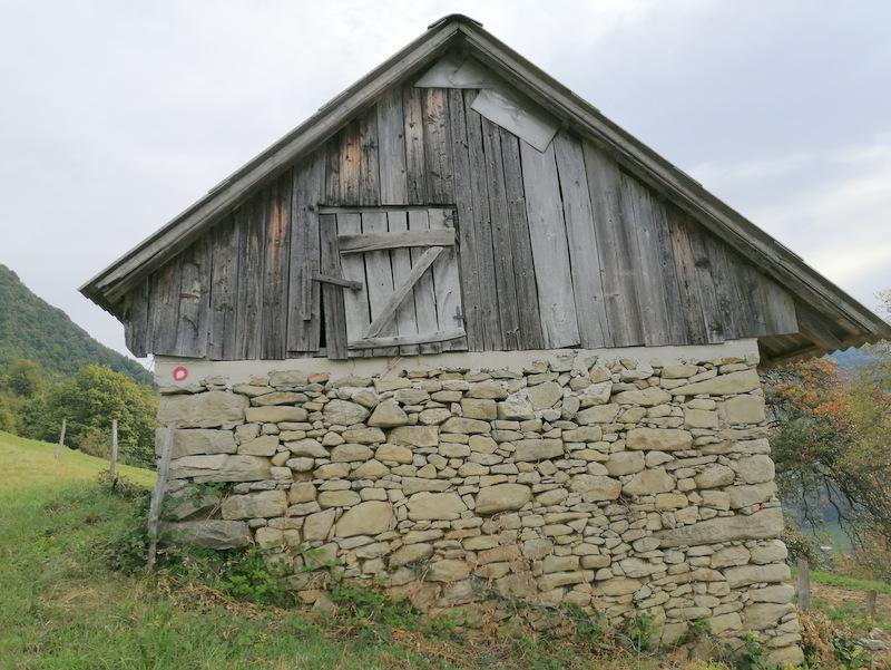 Donačka gora, pot, stara domačija
